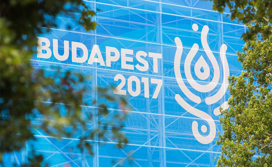 Graphasel Design Studio - 17th FINA World Championships budapest 2017 – visual identity - Branding Packaging Print Product design
