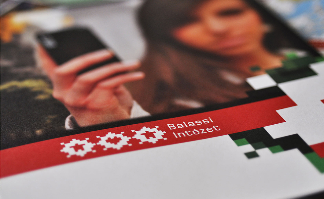 Graphasel Design Studio - Balassi Institute Identity - Branding Print