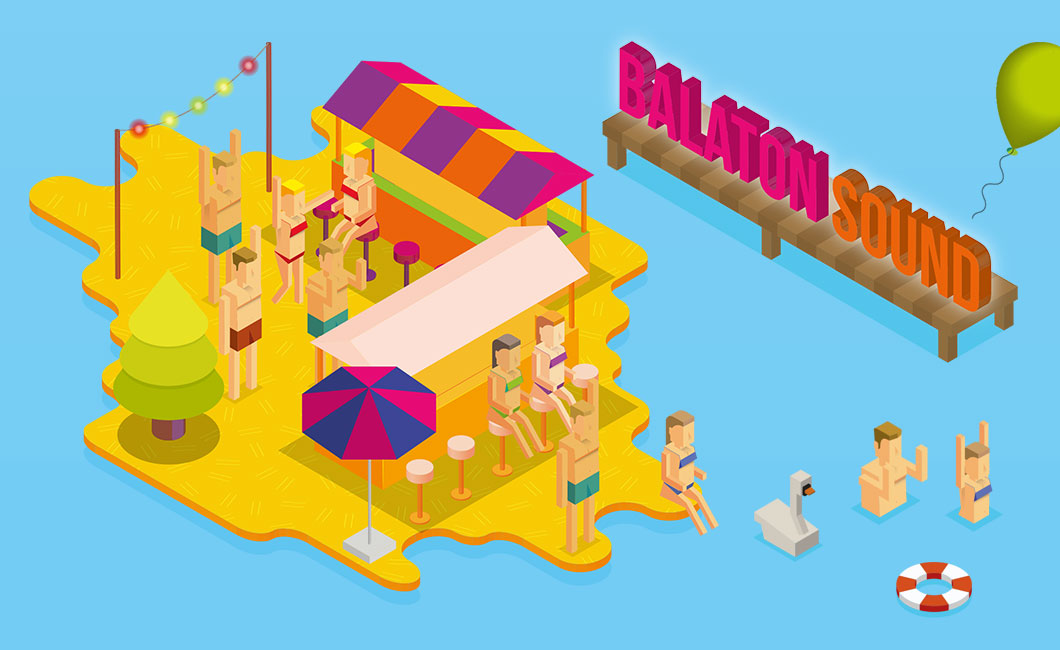 Graphasel Design Studio - Balaton Sound - Branding Print