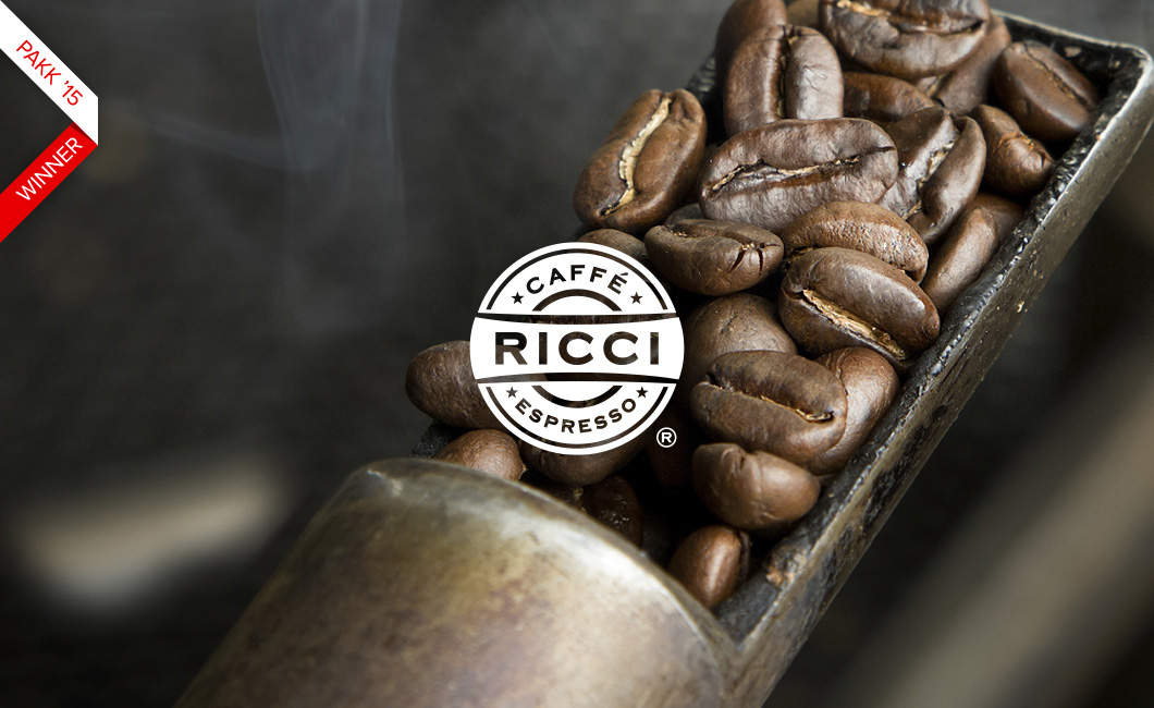 Graphasel Design Studio - Caffé Ricci Identity - Branding Online Packaging Print