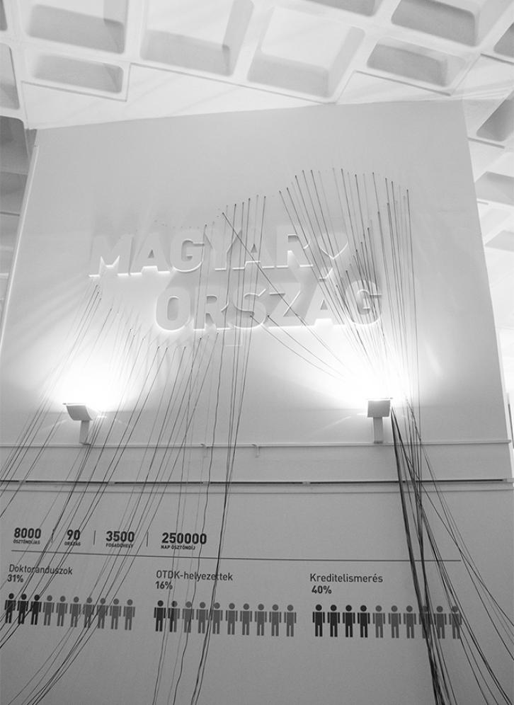 Campus Hungary Installation - Graphasel Design Studio