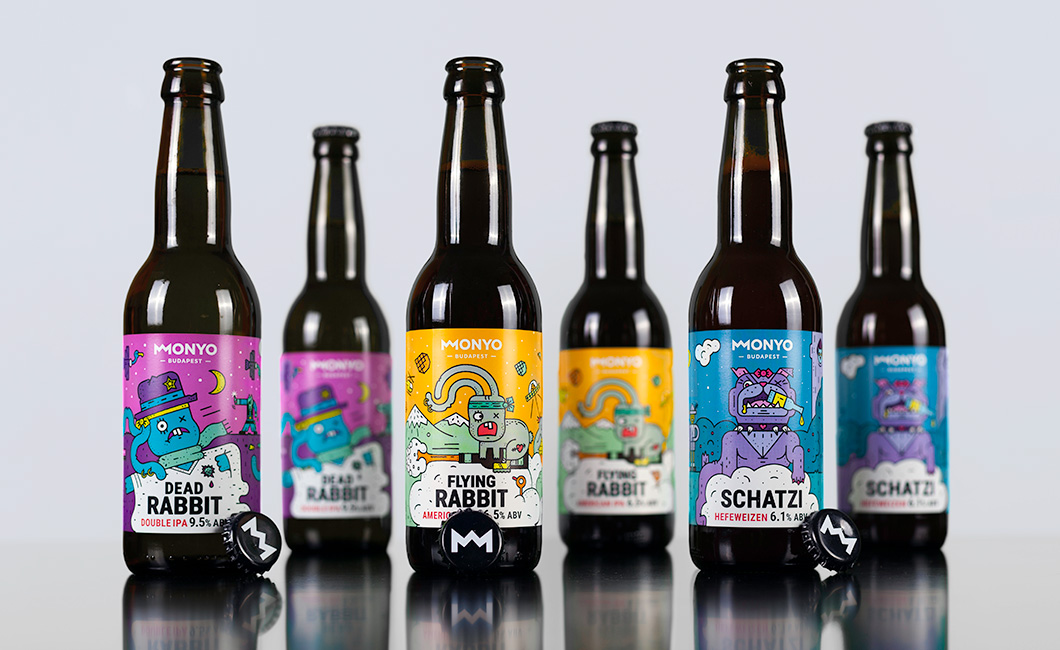Graphasel Design Studio - MONYO BREWING PACKAGING IDENTITY - Branding Packaging Print