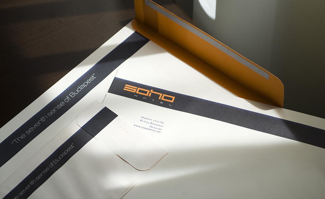 Graphasel Design Studio - Soho Hotel Identity - Branding Print