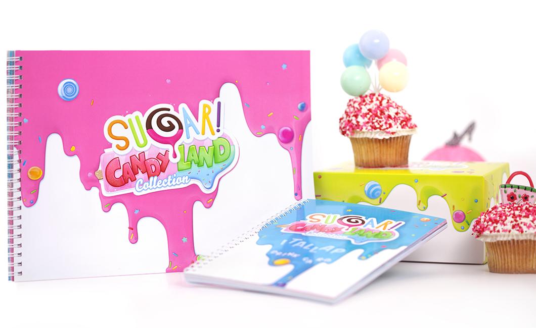 Graphasel Design Studio - SUGAR! – CandyLand Collection - Branding Packaging Print