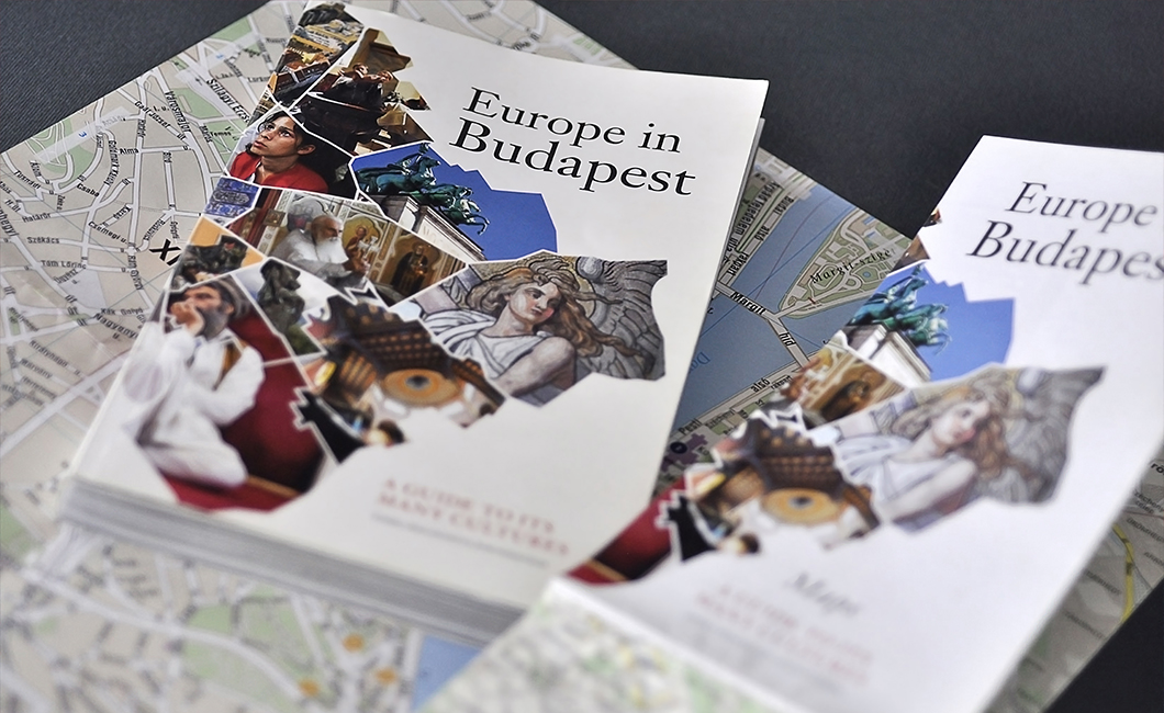 "Graphasel Design Studio - The Book Entitled ""Europe in Budapest"" - Print"