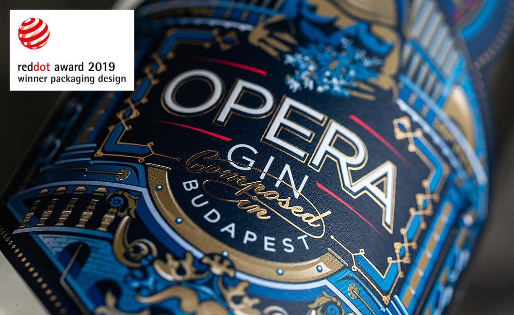 Graphasel Design Studio - OPERA GIN - Branding Packaging