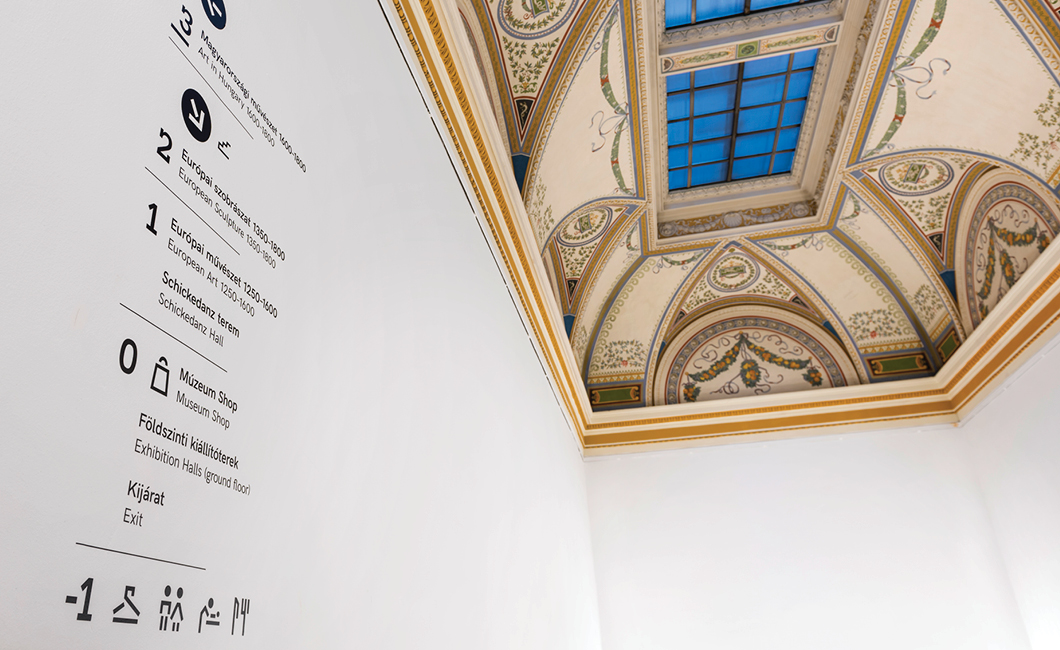 Graphasel Design Studio - Two Museums, One Identity - Interior Print Wayfinding